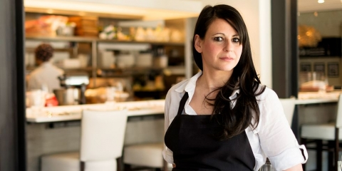 Chef Amanda Cohen, owner of Dirt Candy