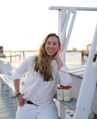 Bronya Shillo, founder and CEO of Fisher's Island Lemonade