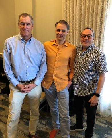 Larry Stone, Jay Boberg, Nicolas Jean Meo