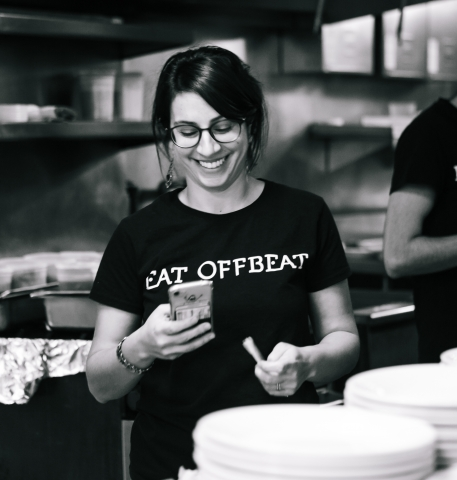 Manal Kahi, co-founder and CEO of Eat Offbeat