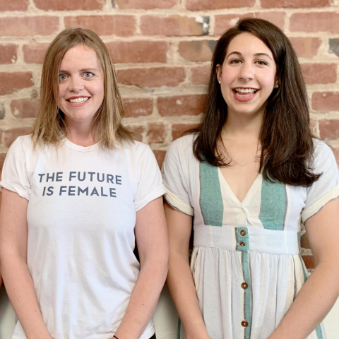Claire Schlemme and Caroline Cotto, Co-Founders of Renewal Mill