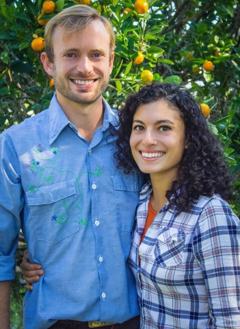 Monica Ponce and Russell Honderd