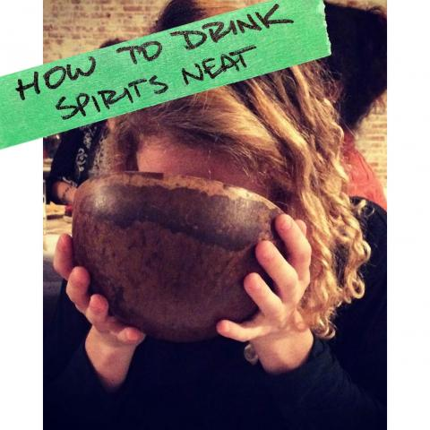 How To Drink Spirits Neat